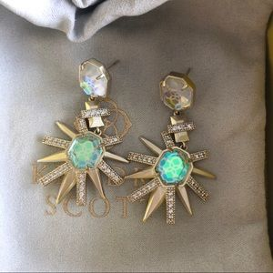 Kendra Scott Allie Dichroic Glass Earrings